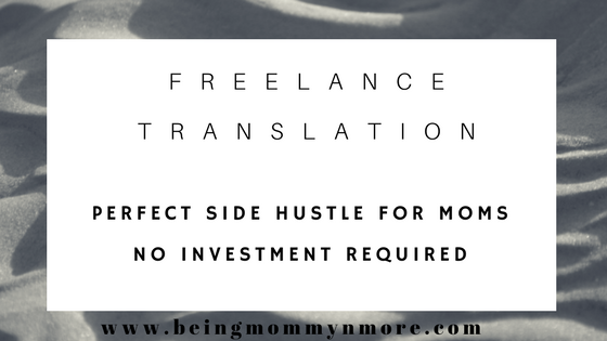 freelance translation side hustle